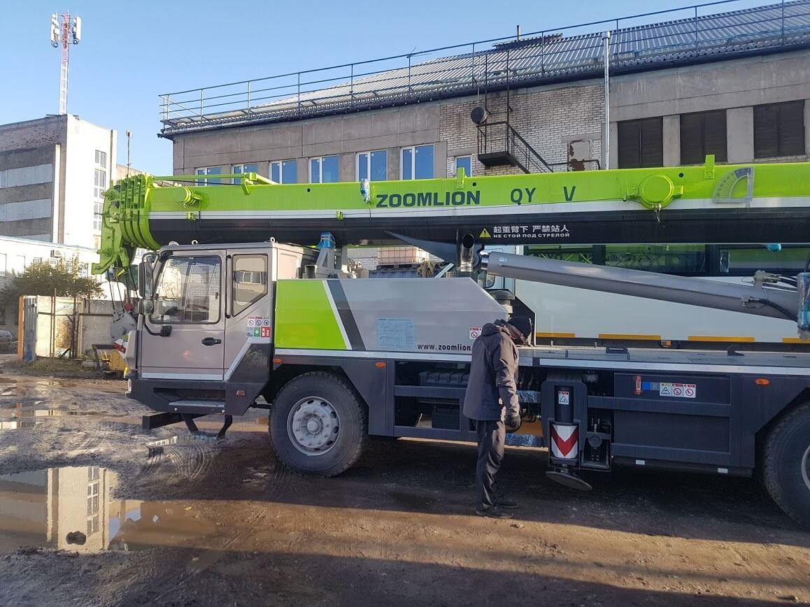 Автокран Zoomlion QY30V 32 т, 40 м