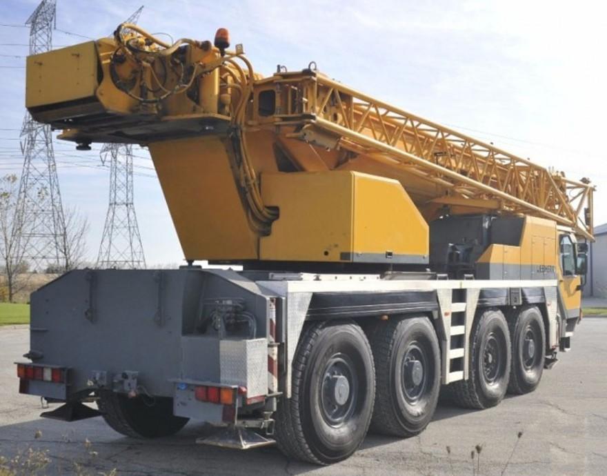 Автокран LIEBHERR LTM 1080 (80 тонн)