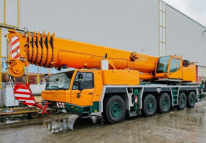 Автокран Tadano FAUN ATF 220G-5 (220 тонн)