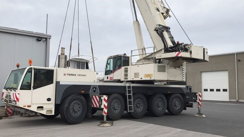 Автокран TEREX DEMAG AC 120 (120 — 130 тонн)