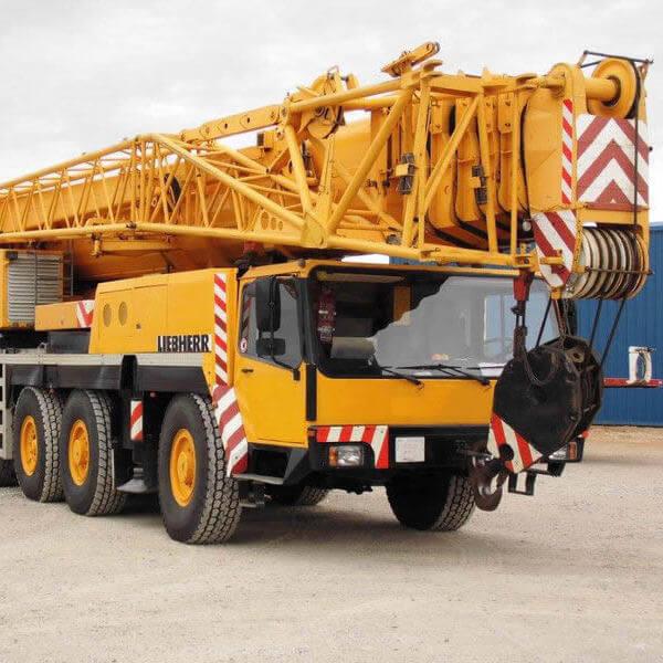 Автокран LIEBHERR LTM 1160 (160 тонн)