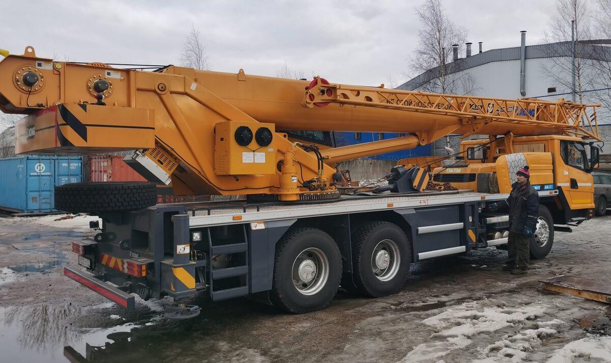 Автокран XCMG XCT 5L S 40 тонн